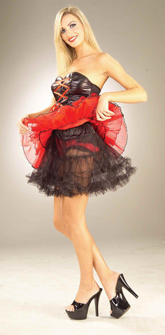 Costume Petticoats Black Crinoline Womens - HalloweenCostumes4U.com - Accessories