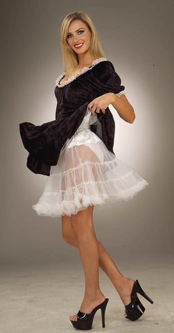 Costume Petticoats White Crinoline Women's - HalloweenCostumes4U.com - Accessories