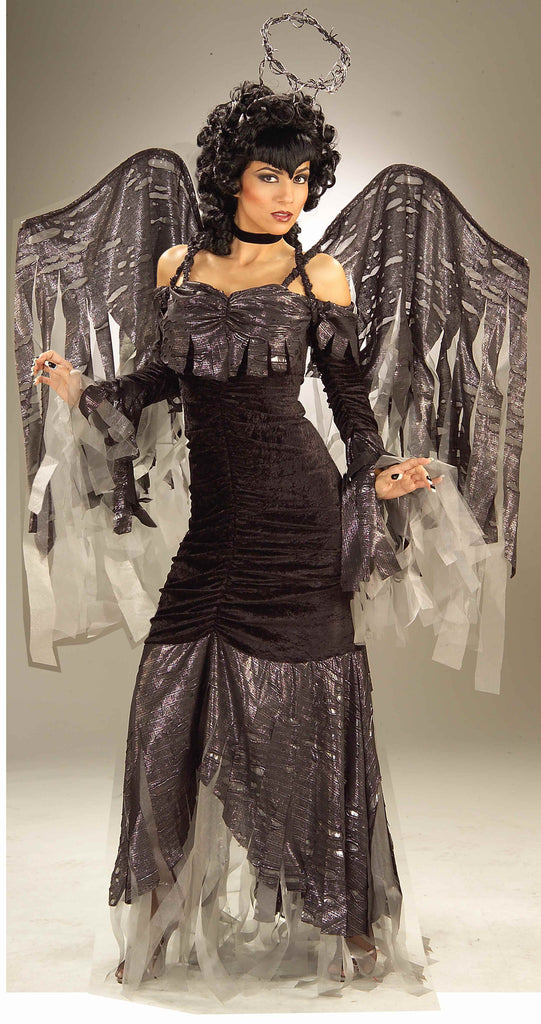 Halloween Costumes Gothic Angel Costume - HalloweenCostumes4U.com - Adult Costumes