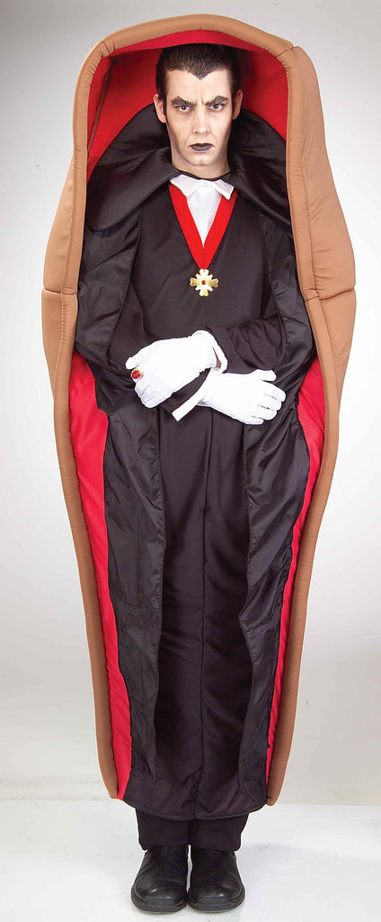 Halloween Costumes Vampire in Coffin Adult Costume - HalloweenCostumes4U.com - Adult Costumes