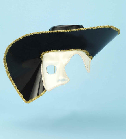 Costume Masks Venetian Hat/Face Masks - HalloweenCostumes4U.com - Accessories