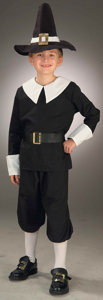Pilgrim Boy Costumes Childs Pilgrim Costume - HalloweenCostumes4U.com - Kids Costumes