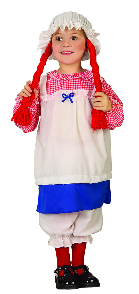 Halloween Costumes Rag Doll Costume Toddlers Costumes - HalloweenCostumes4U.com - Infant & Toddler Costumes