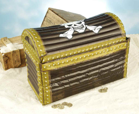 Halloween Party Cooler Treasure Chest Inflatable Cooler - HalloweenCostumes4U.com - Decorations