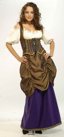 Womens Deluxe Pirate Wench Costume - HalloweenCostumes4U.com - Adult Costumes