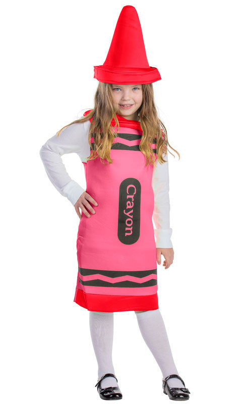 Toddlers/Kids Red Crayon Costume