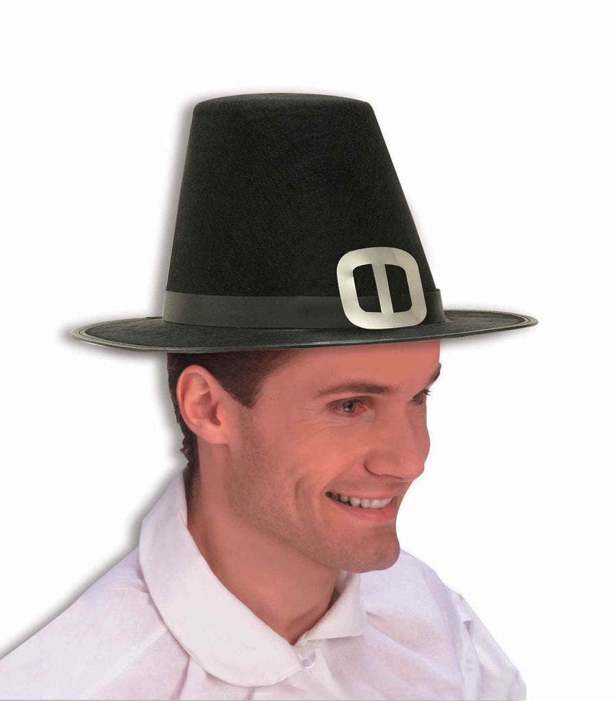 Costume Hats Pilgrim Costume Hat - HalloweenCostumes4U.com - Accessories