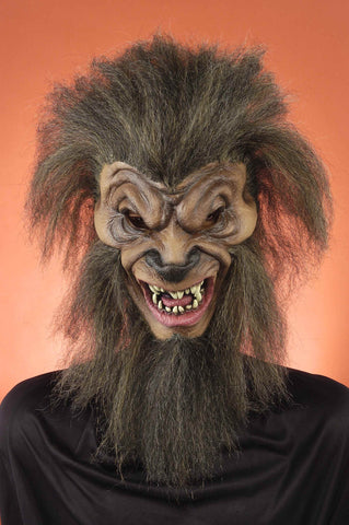 Halloween Masks Wolf Man Halloween Mask - HalloweenCostumes4U.com - Accessories