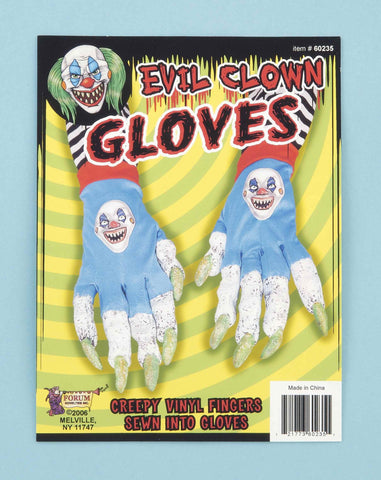 Halloween Costume Evil Clown Hands - HalloweenCostumes4U.com - Accessories