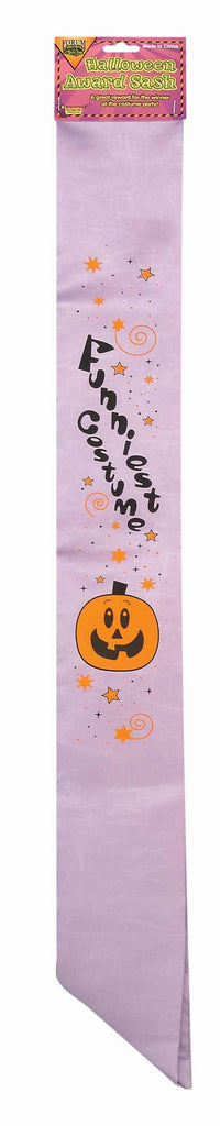 Best Halloween Costume Award Sash - HalloweenCostumes4U.com - Decorations