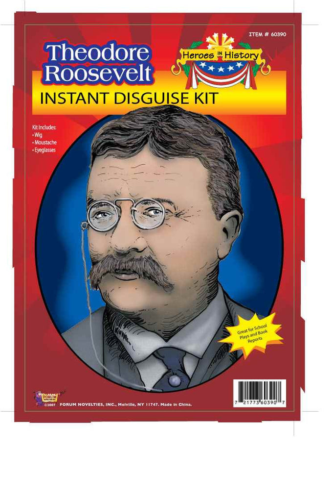 Heroes In History-T.Roosevelt - HalloweenCostumes4U.com - Accessories