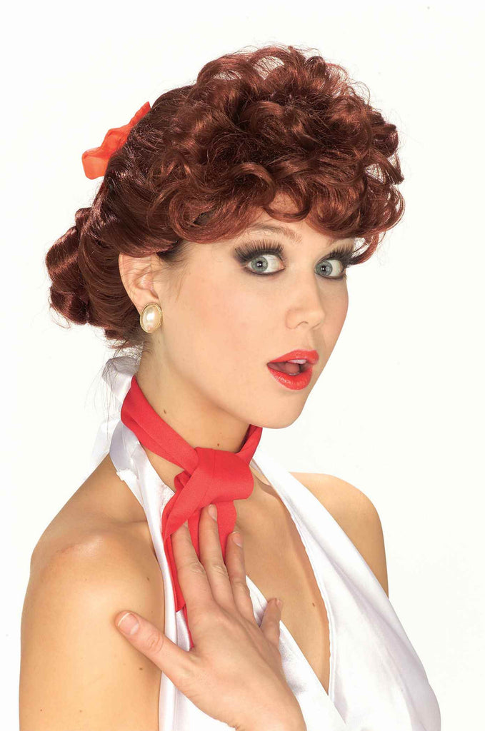 Costume Wigs 50's Housewife Wig Auburn - HalloweenCostumes4U.com - Accessories