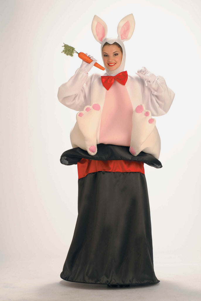 Funny Costumes Magic Hat Rabbit Adult Costume - HalloweenCostumes4U.com - Adult Costumes