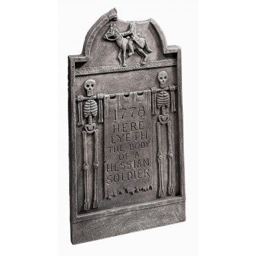 Headless Horseman Tombstone Prop - HalloweenCostumes4U.com - Decorations
