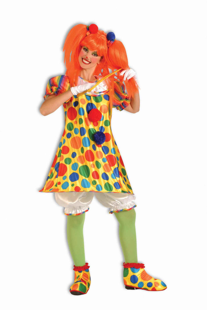 Halloween Costumes Women's Clown Costume - HalloweenCostumes4U.com - Costumes