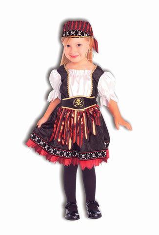Toddlers Costumes Pirate Cutie Halloween Costume - HalloweenCostumes4U.com - Infant & Toddler Costumes