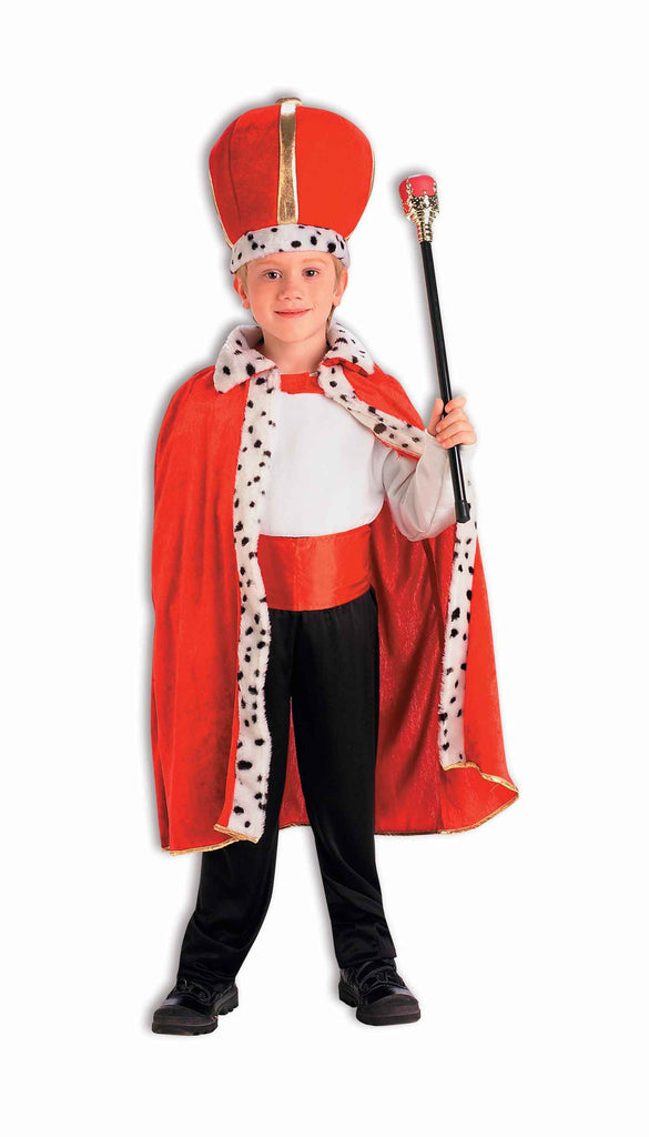 King Costumes Children's Red King