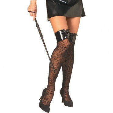 Spider Web Thigh Highs - HalloweenCostumes4U.com - Accessories