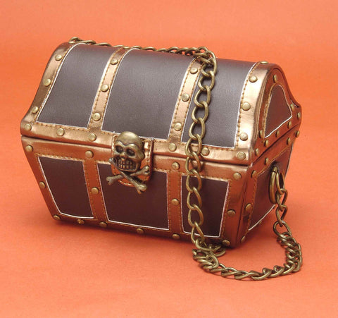 Costume Bags Pirate Chest Handbag - HalloweenCostumes4U.com - Accessories