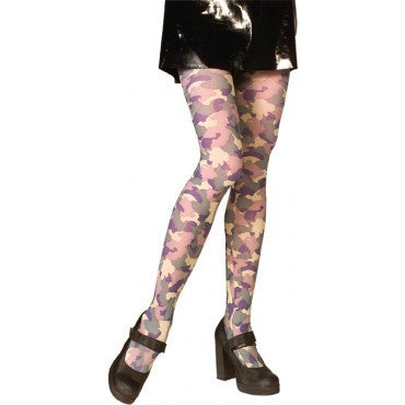 Camouflage Tights - HalloweenCostumes4U.com - Accessories