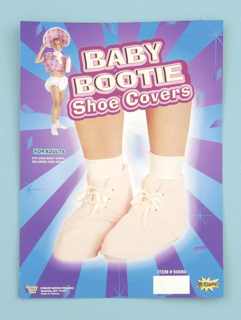 Costume Baby Bootie Shoe Covers Pink - HalloweenCostumes4U.com - Infant & Toddler Costumes