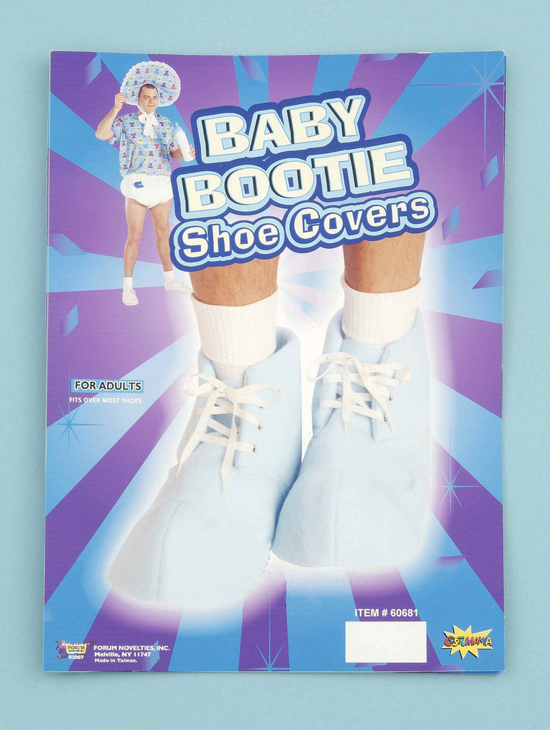 Costume Baby Bootie Shoe Covers Blue - HalloweenCostumes4U.com - Infant & Toddler Costumes