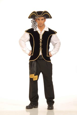 Pirate Costume Vests Men's Pirate Vest - HalloweenCostumes4U.com - Adult Costumes
