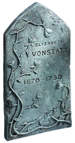 Vonstatt Tombstone Prop - HalloweenCostumes4U.com - Decorations