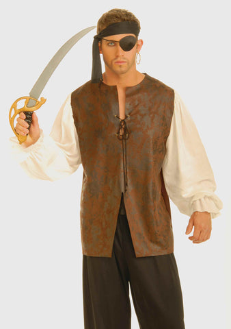 Pirate Costume Shirt Men's Buccaneer Shirts - HalloweenCostumes4U.com - Adult Costumes