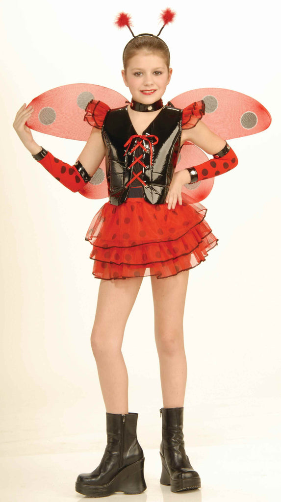 Halloween Costumes Lady Bug Girls Costume - HalloweenCostumes4U.com - Kids Costumes