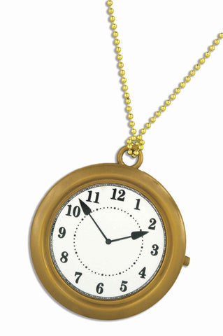 Halloween Rapper Big Clock Necklace - HalloweenCostumes4U.com - Accessories