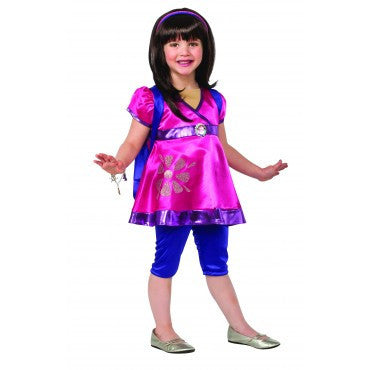 Girls Deluxe Dora Costume - HalloweenCostumes4U.com - Kids Costumes
