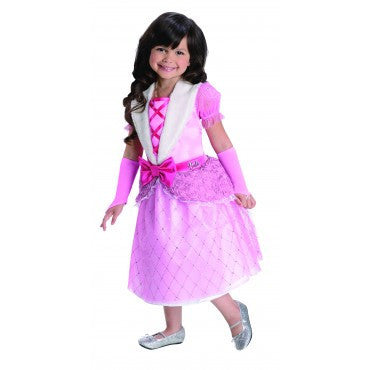 Girls Barbie Rosebud Princess - HalloweenCostumes4U.com - Kids Costumes
