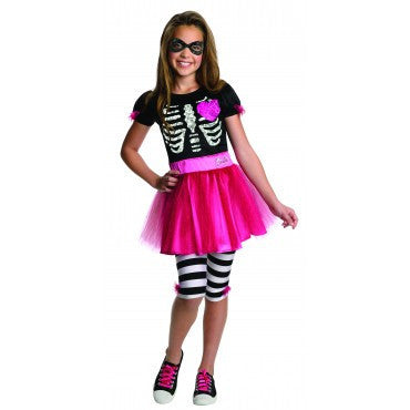 Toddlers/Kids Skeleton  Barbie Costume - HalloweenCostumes4U.com - Kids Costumes
