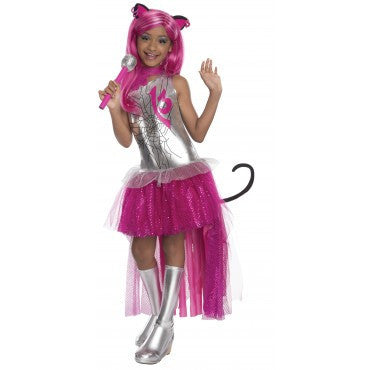 Girls Monster High Catty Noir Costume - HalloweenCostumes4U.com - Kids Costumes