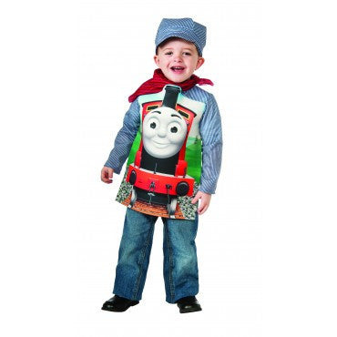 Boys Thomas the Tank Deluxe James Train and Engineer Costume - HalloweenCostumes4U.com - Kids Costumes