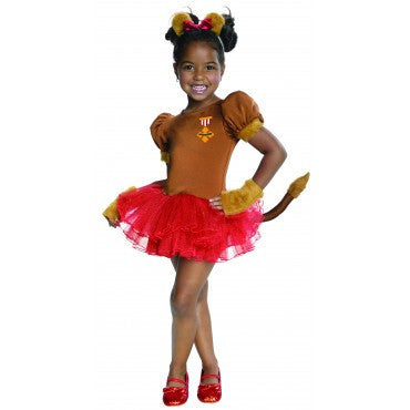 Girls Wizard of Oz Lion Tutu Costume - HalloweenCostumes4U.com - Kids Costumes