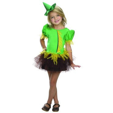 Girls Wizard of Oz Scarecrow Tutu Costume - HalloweenCostumes4U.com - Kids Costumes