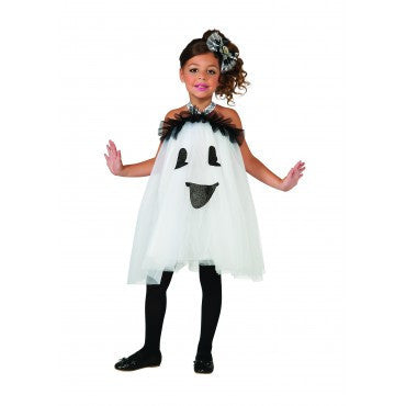 Girls Ghost Tutu Dress - HalloweenCostumes4U.com - Kids Costumes