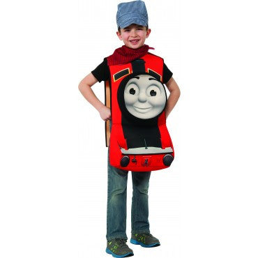 Boys Thomas the Tank Deluxe James Costume - HalloweenCostumes4U.com - Kids Costumes