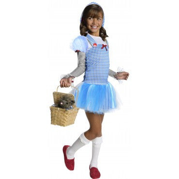 Girls Wizard of Oz Dorothy Hoodie - HalloweenCostumes4U.com - Kids Costumes