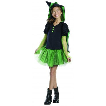 Girls Wizard of Oz Wicked Witch of the West Hoodie Costume - HalloweenCostumes4U.com - Kids Costumes