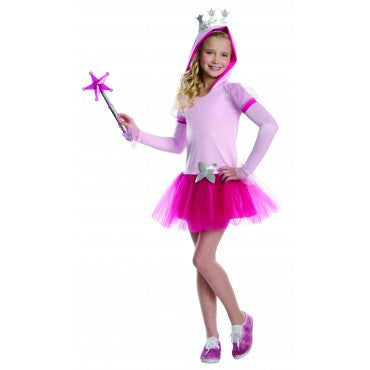 Girls Wizard of Oz Glinda Hoodie Costume - HalloweenCostumes4U.com - Kids Costumes