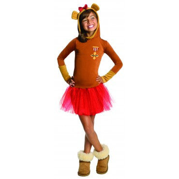 Girls Wizard of Oz Cowardly Lion Hoodie Costume - HalloweenCostumes4U.com - Kids Costumes