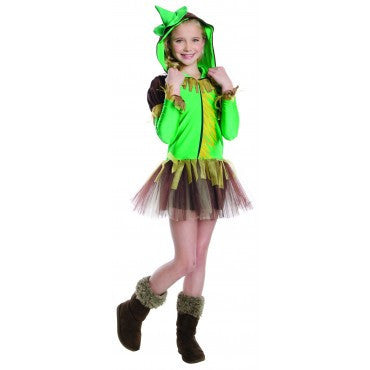 Girls Wizard of Oz Scarecrow Hoodie Costume - HalloweenCostumes4U.com - Kids Costumes