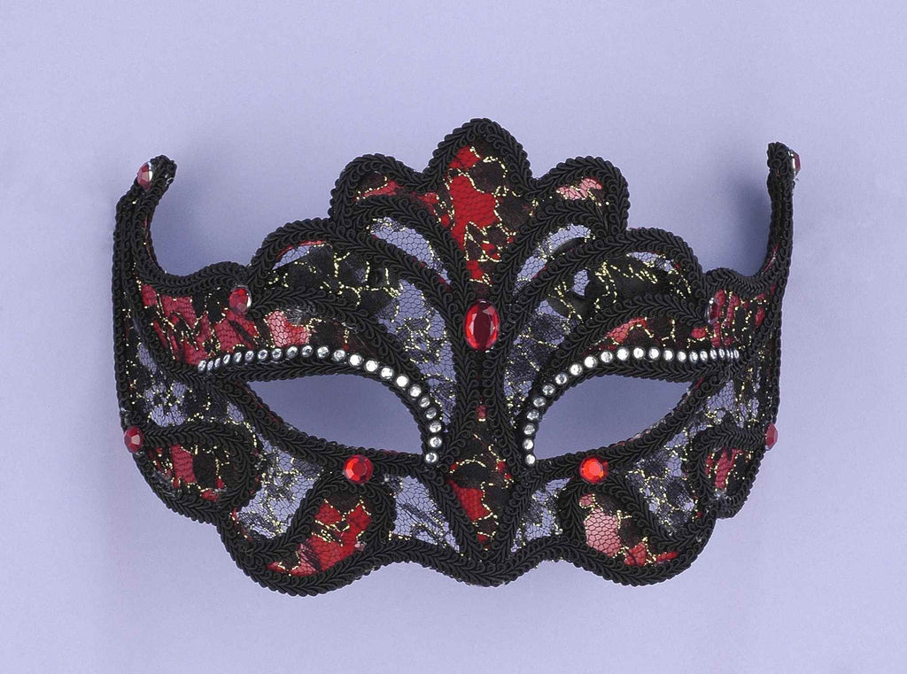 Halloween Masks Lace Costume Eyemask - HalloweenCostumes4U.com - Accessories