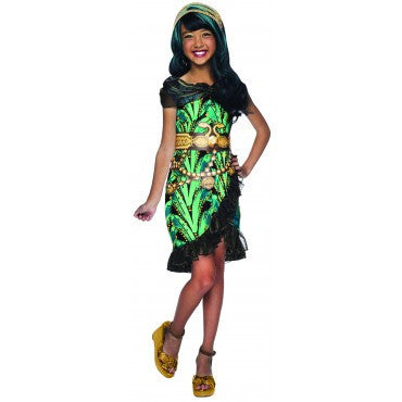 Girls Monster High Cleo de Nile costume - HalloweenCostumes4U.com - Kids Costumes