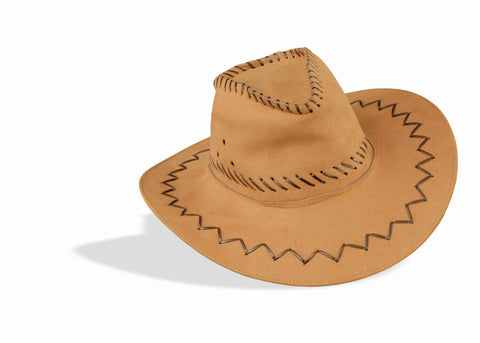 Cowboy Costume Hats Suede Cowboy Hat - HalloweenCostumes4U.com - Accessories