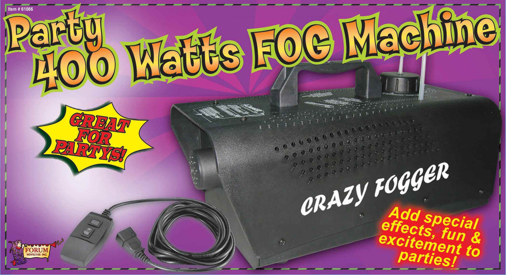 Halloween Party Fog Machine 400W - HalloweenCostumes4U.com - Decorations