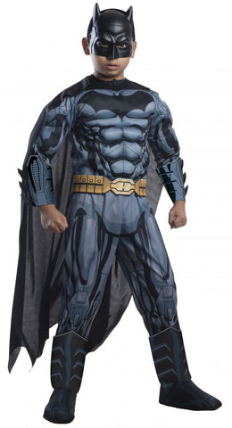 Boys Deluxe Muscle Chest Batman Costume